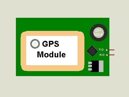 GPS proteus module for Arduino Simulation