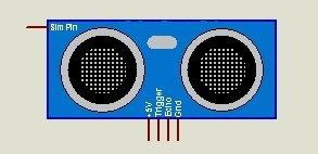 Arduino Ultrasonic Sensor HC-SR04 Proteus Library