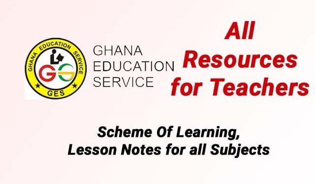 download ges resources for kg and basic schools