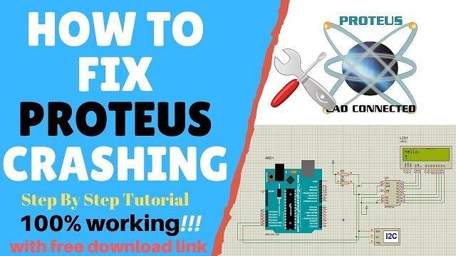 fix proteus crashing