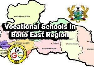 vocational schools in bono east region