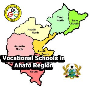 list of vocational schools in ahafo region