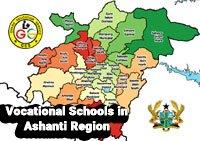 list of vocational schools in ashanti region