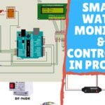 Automatic Water Level Monitor & Controller in Proteus | Step By Step With Arduino Source Code