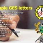 GES Sample Letters Free Download in PDF